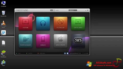 Snimak zaslona Free Studio Windows 10