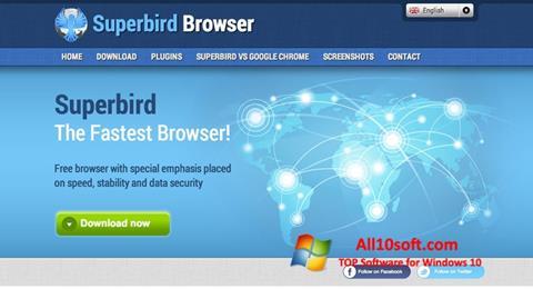 Snimak zaslona Superbird Windows 10