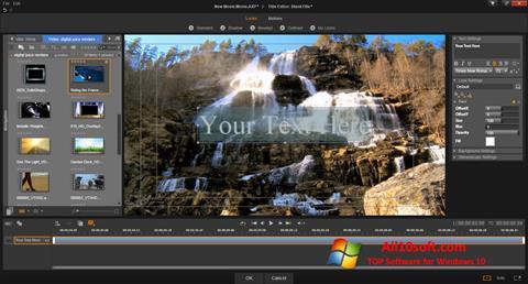 Snimak zaslona Pinnacle Studio Windows 10